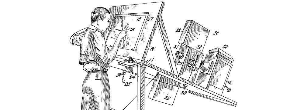 Original Rotoscoping Device