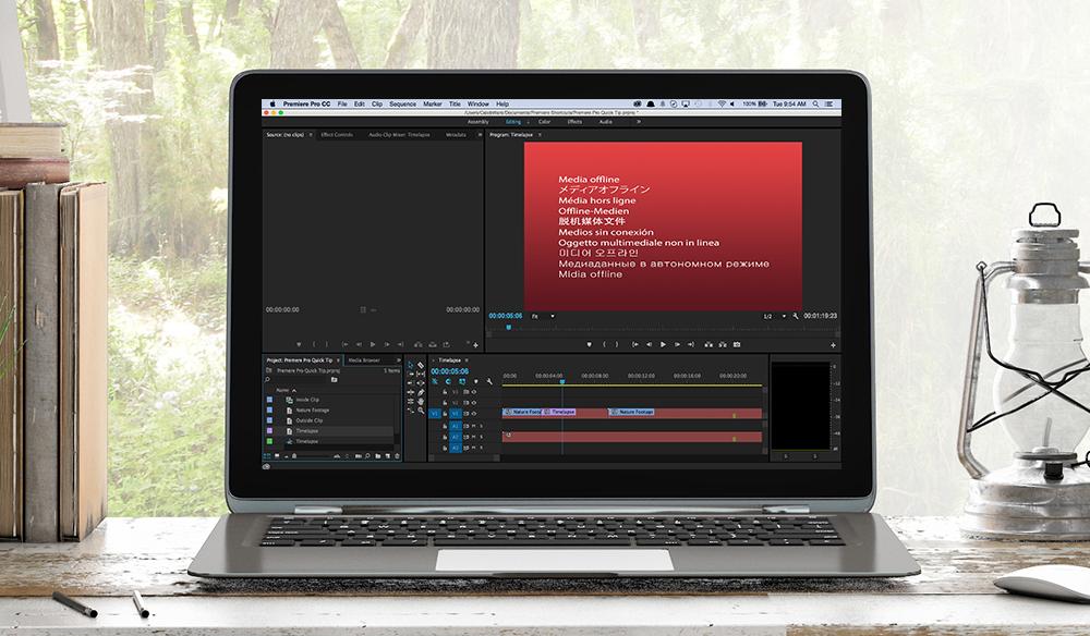 Media Offline Premiere Pro Quick Tip