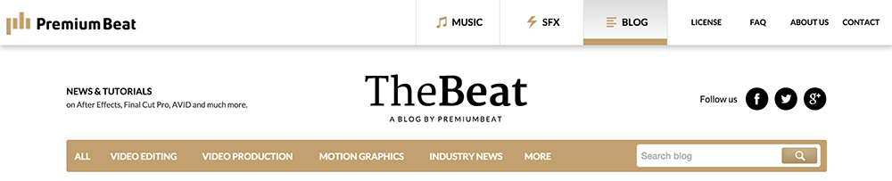 PremiumBeat Blog
