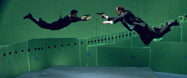 VFX: The Matrix, 1999