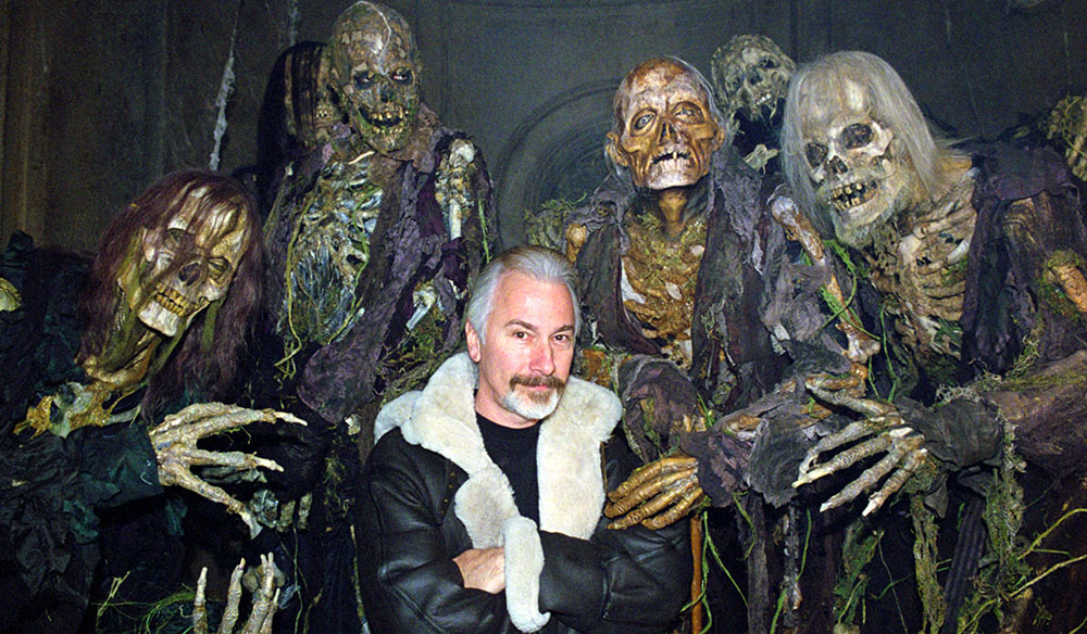 Learn a Gruesome Lesson in Horror Makeup From Rick Baker
