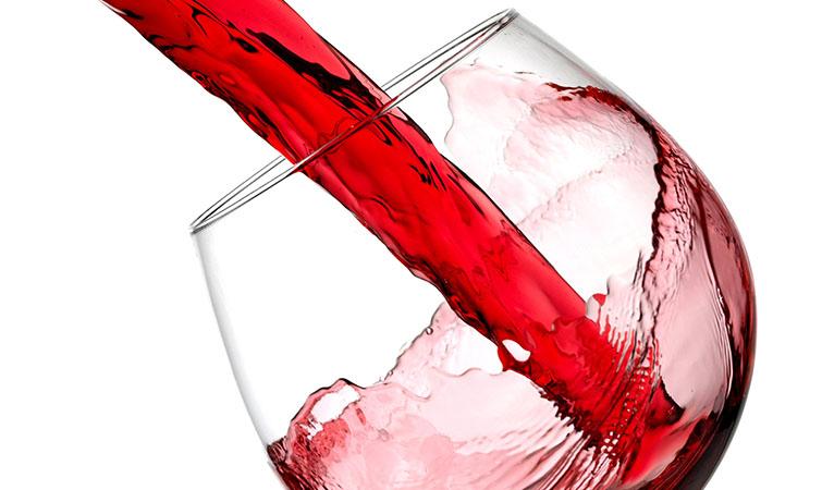 slow motion wine