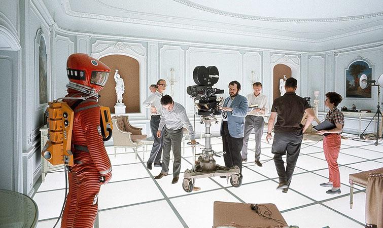 2001 sci-fi art direction