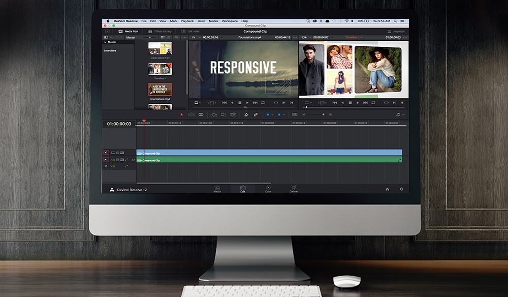 DaVinci Resolve Compound Clips