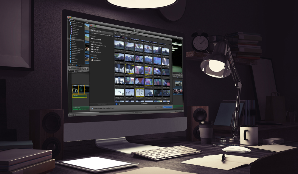 Creating Optimized Media in Final Cut Pro X
