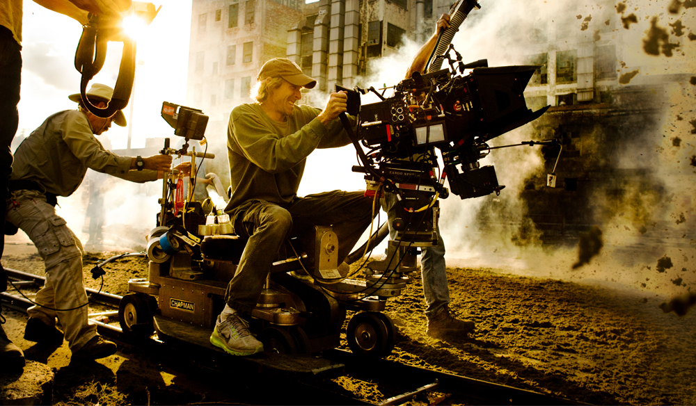 Epic Tracking Shots Michael Bay Cover