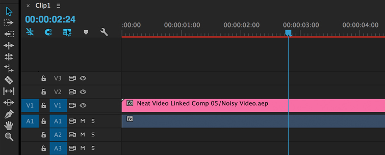 Clean up Noisy Video in Premiere Pro, Step 4.