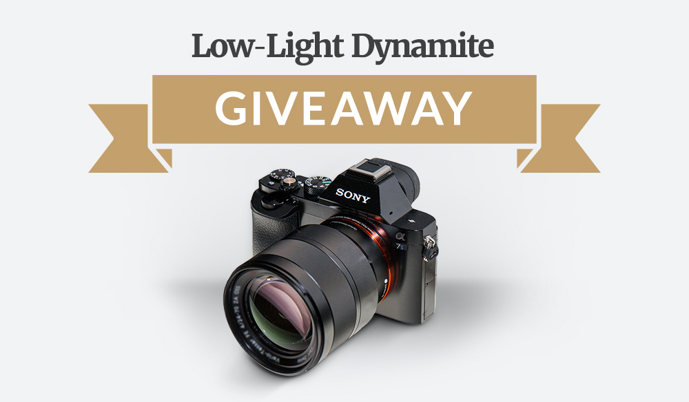 Low Light Dynamite Giveaway