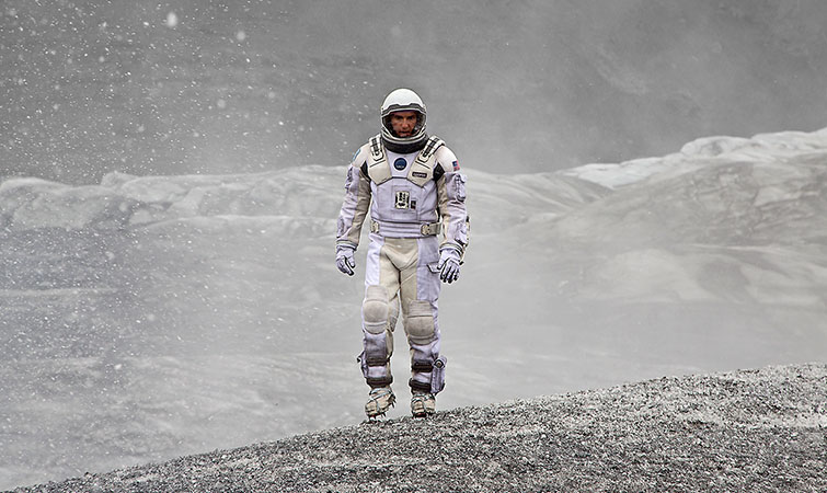 interstellar sci-fi look clean