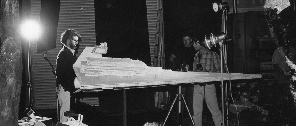 George Lucas and Star Destroyer