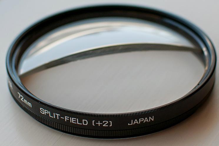 Split-field diopter Hoya Lens