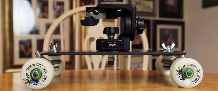 6 Affordable Ways to Capture Great Dolly Shots - DIY Table Top Dolly