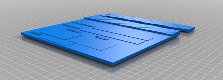 Custom Clapboard