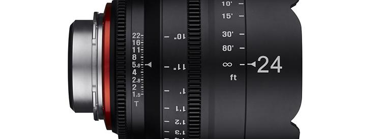 Rokinon 24mm Lens