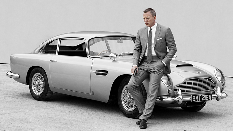 Product Placement in Film: Aston Martin
