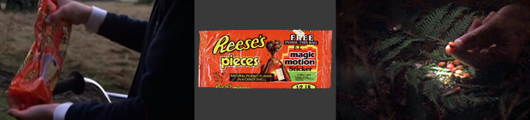 Product Placement in Film: Reece's Pieces