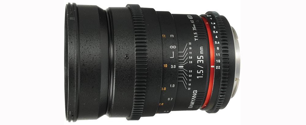 Rokinon 35mm Lens