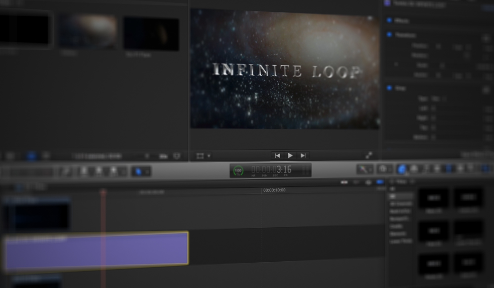3D Titles in Final Cut Pro X