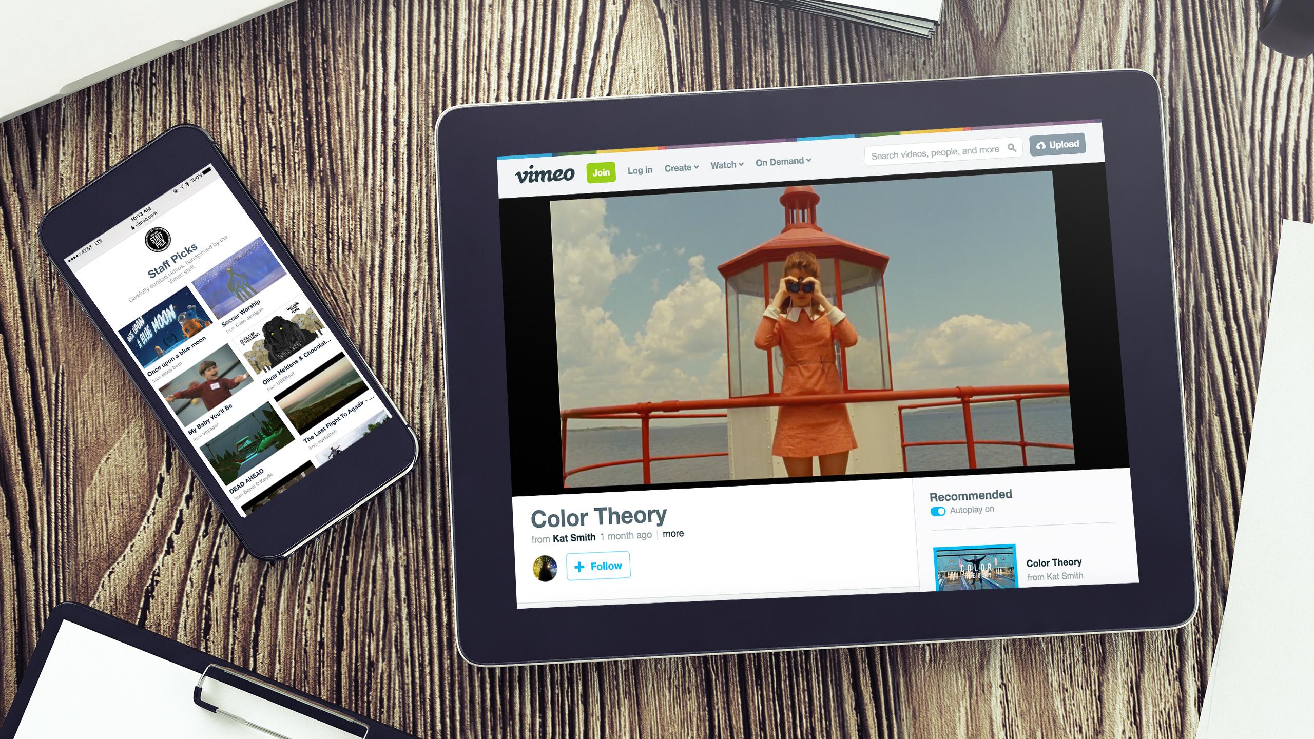 Vimeo Channels