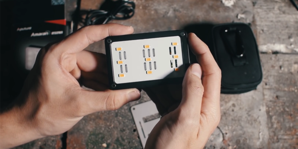 Compact LED Lights for Traveling and Documentary Work — AL-M9