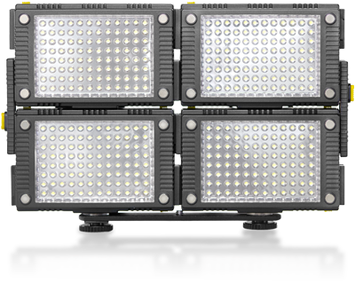 Compact LED Lights for Traveling and Documentary Work — Linked