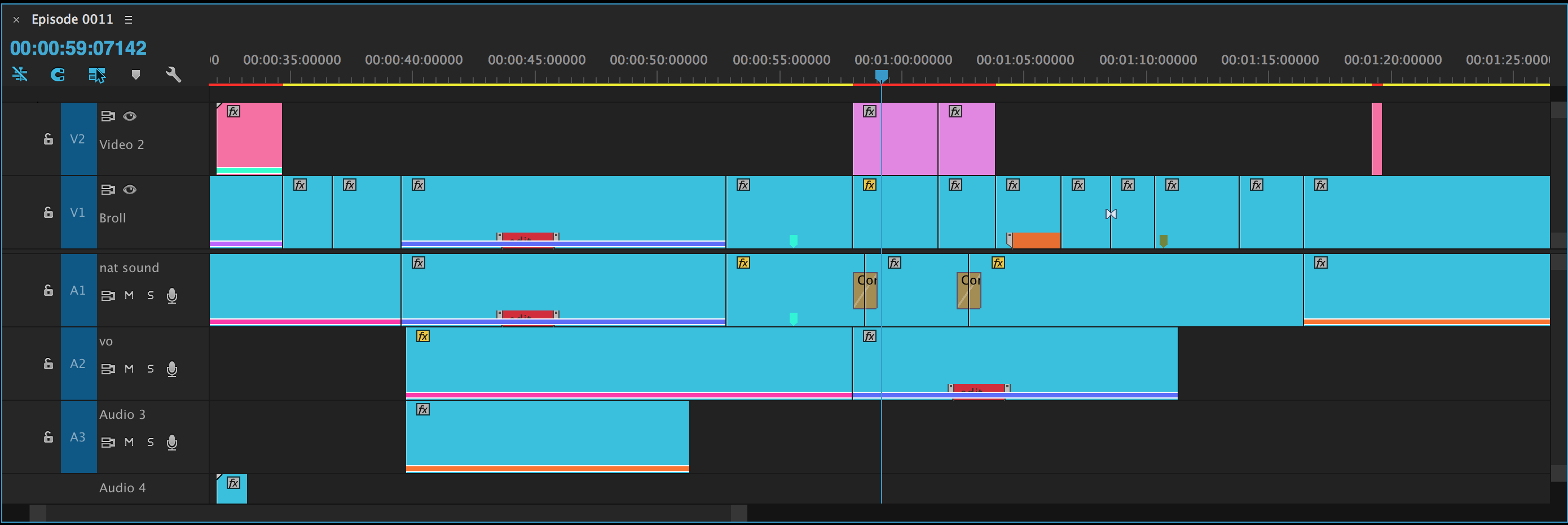 Customize the Adobe Premiere Pro Timeline