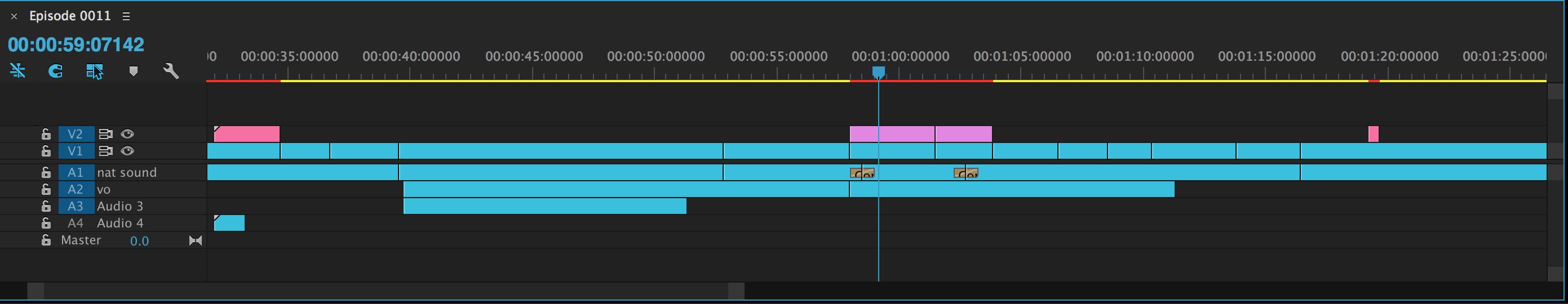 Minimize Adobe Premiere Pro Tracks