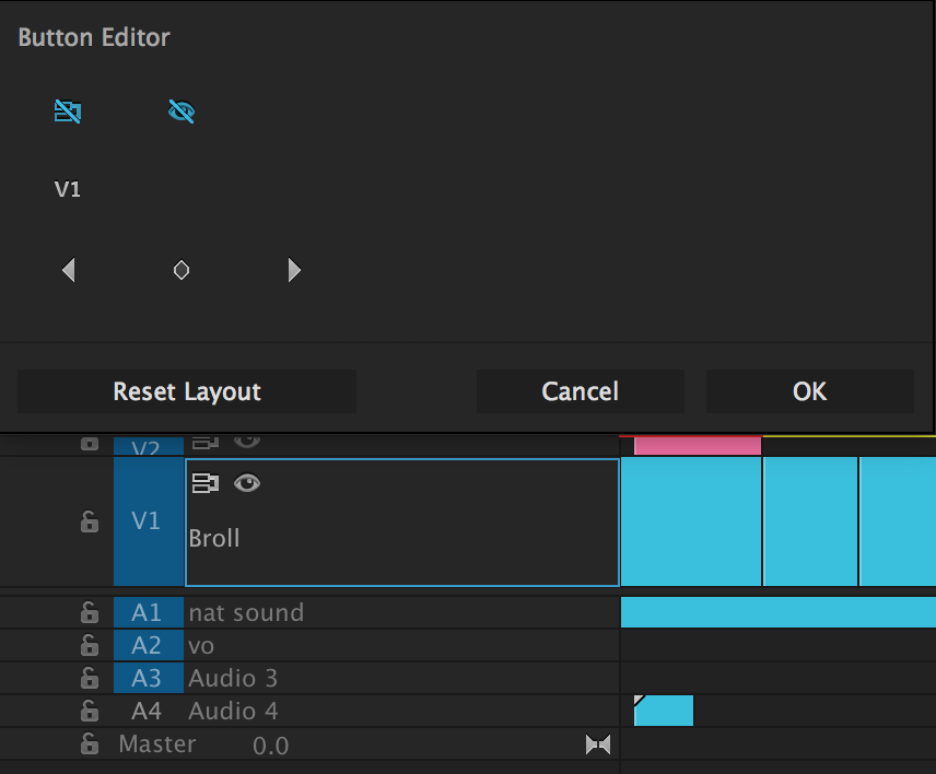 Customize Premiere Pro Track Headers