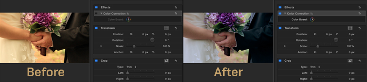 White Balance Footage in Final Cut Pro X: Complete