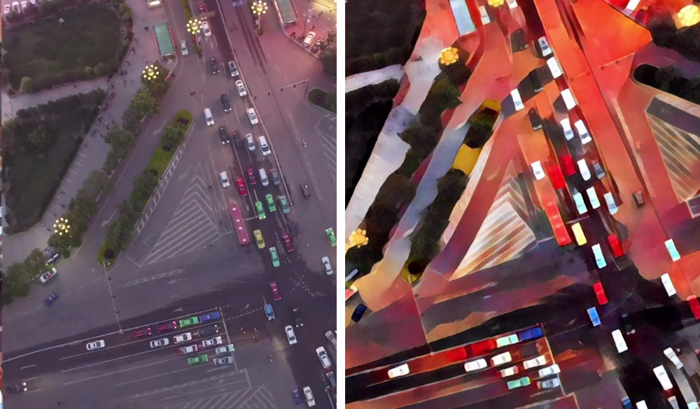 Turn Your Timelapse Videos into Moving Paintings