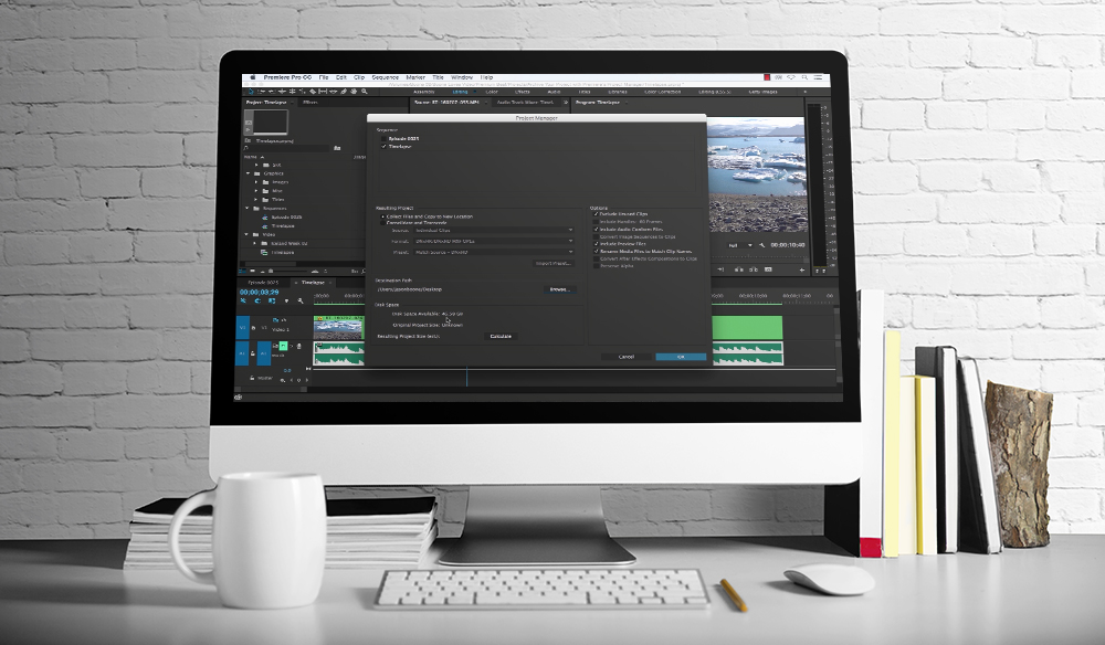 Archiving Projects in Premiere Pro Project Manager
