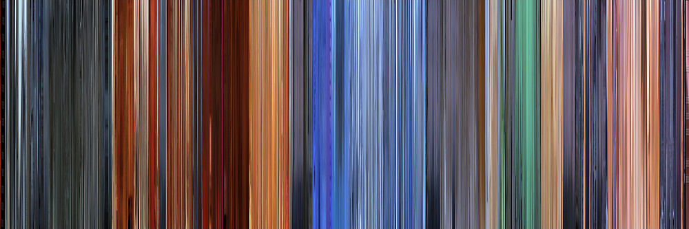 Color Grading Inspiration: Movie Barcodes and Color Palettes