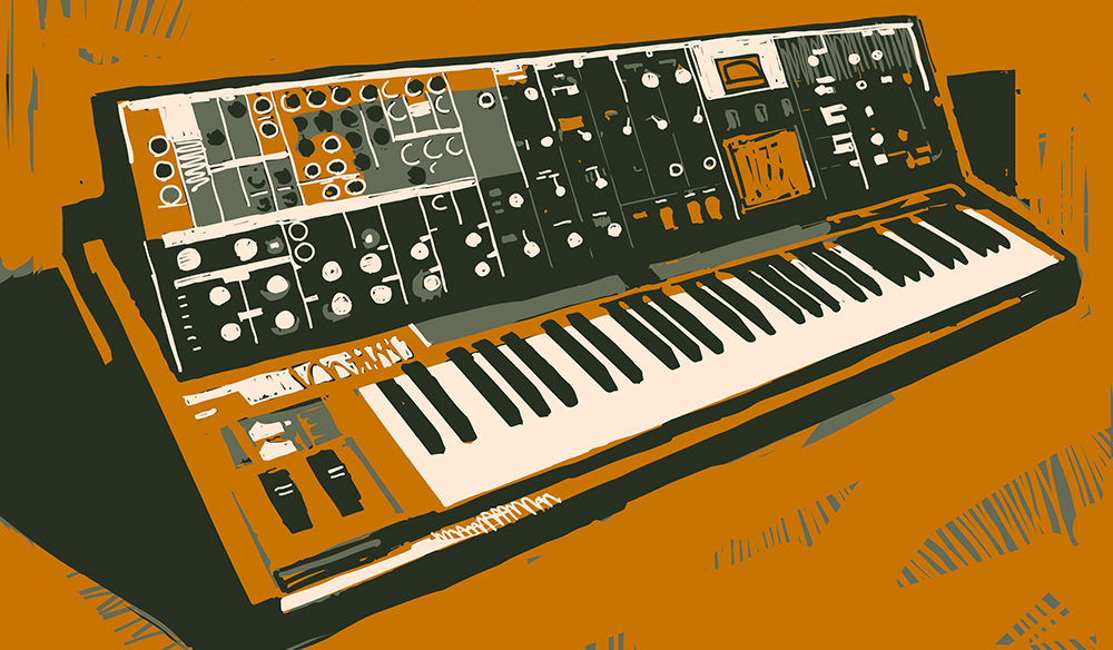 Synth Music Cover