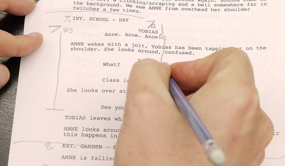 How to Break a Script Down Into a Shot List