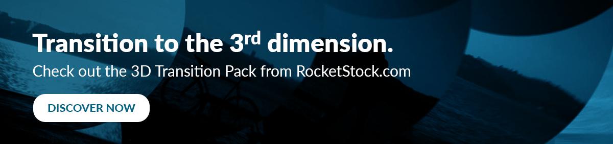 3D Transitions on RocketStock