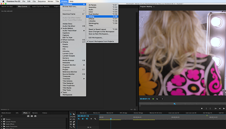 How to Create Masks in Adobe Premiere Pro — Editing Layout