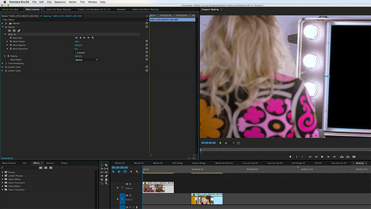 How to Create Masks in Adobe Premiere Pro — Invert Mask