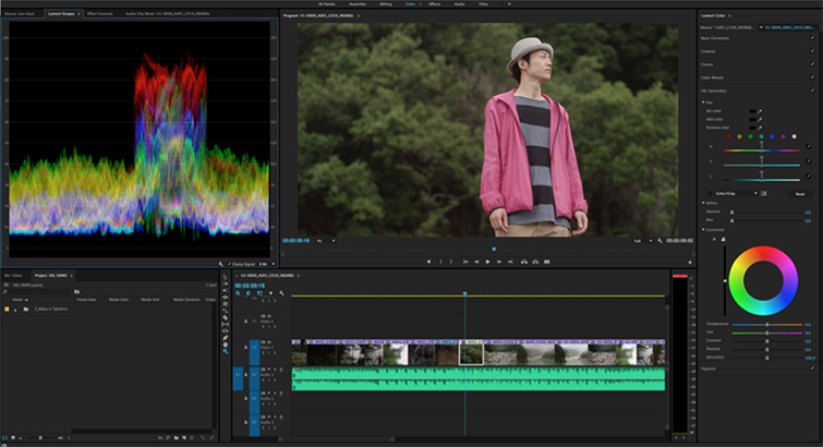 The Future of Creative Cloud: Insights from Adobe Video World 2016 - Lumetri Secondaries