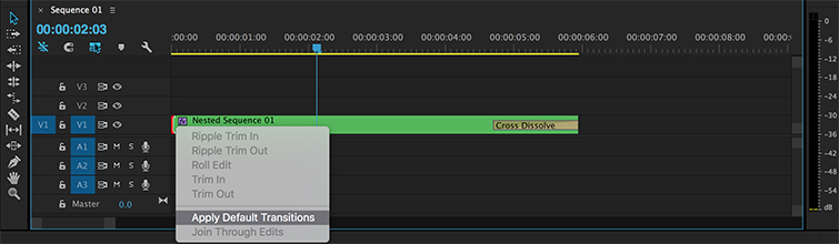 A Quick Guide to Nesting in Premiere Pro - Add Effects and Transitions