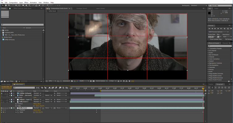 Create A Dolly Zoom With Just A Prime Lens - Off Balance