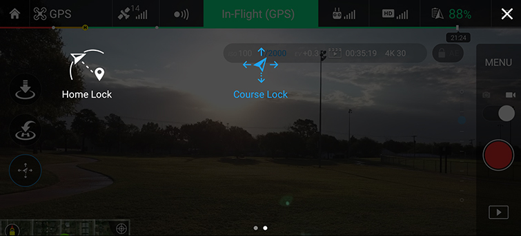 Traditional Camera Moves Made Easy with DJI Drones - Course Lock Select