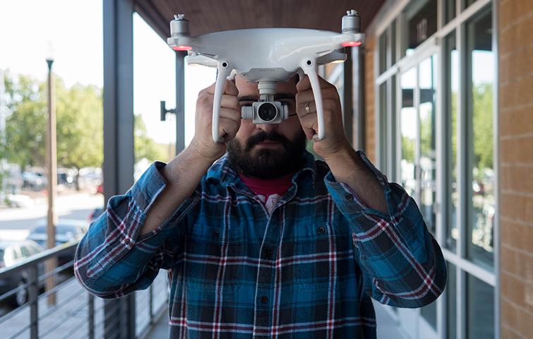Traditional Camera Moves Made Easy with DJI Drones - Phantom 4 POV