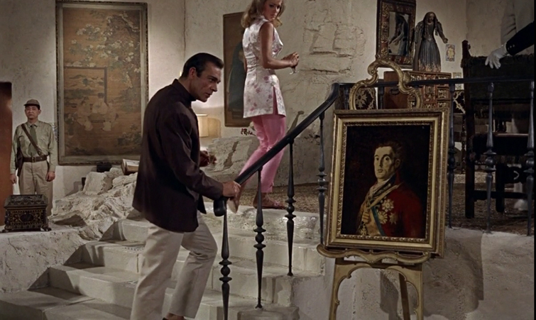 The Influence of Paintings on Filmmakers - Dr. No