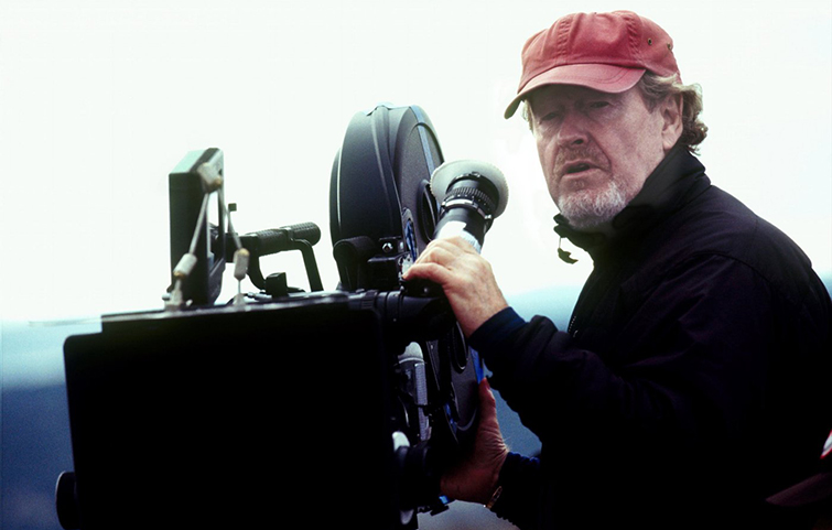 Favorite Focal Lengths of Famous Directors: Ridley Scott