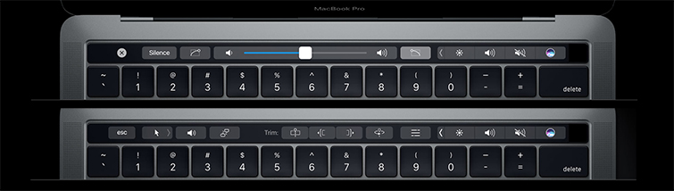 Final Cut Pro Gets a Major Update for the New MacBook Pro: Touch Bar Controls