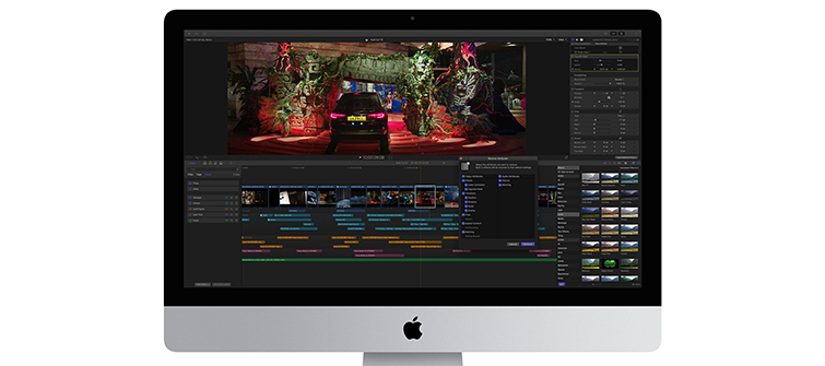 Final Cut Pro Gets a Major Update for the New MacBook Pro: Collapsed Timeline