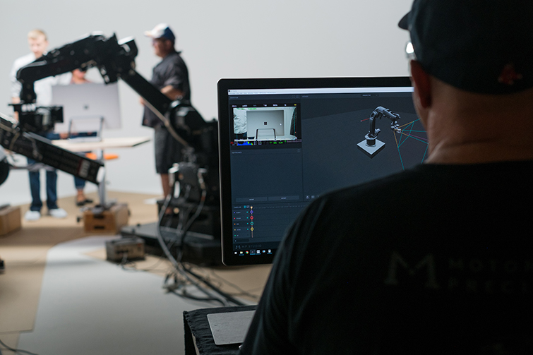 Microsoft Used a Robot and an Xbox Controller to Shoot a Commercial - Shooting the Commercial