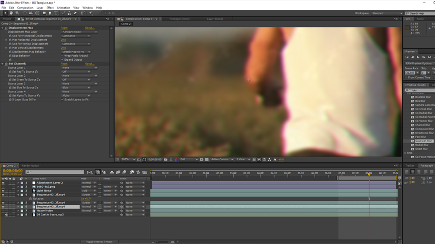 How To Create Realistic Old VHS Footage: Color Fringe