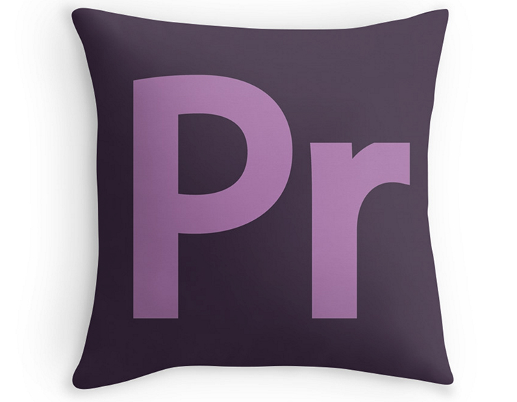 The Video Editor's Holiday Wish List: Premiere Pro Pillow