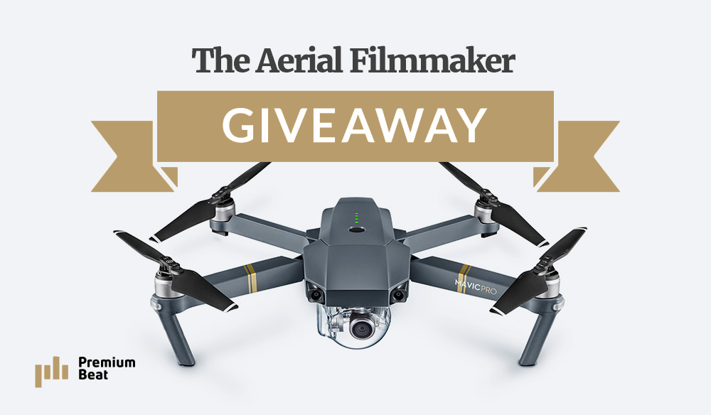 Win a DJI Mavic Pro Prize Pack – Valued at Over $2,000!